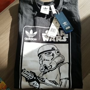 Star wars adidas storm trooper black nwt